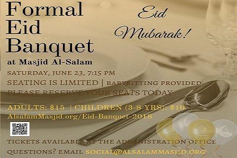 Permalink to: Formal Eid Banquet