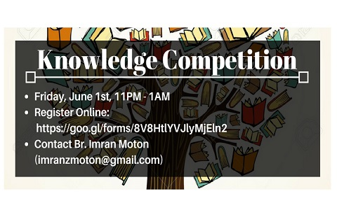 Permalink to: Knowledge Competition Signup
