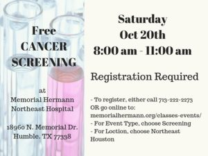 Free Cancer Screenings