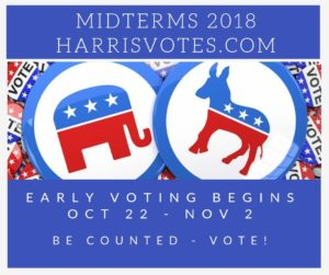 Midterms 2018 - Early Voting Begins