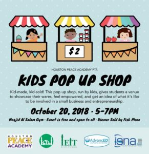 Kids Pop Up Shop