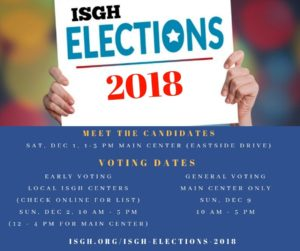 ISGH Elections 2018
