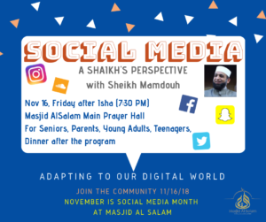 Social Media - A Sheikh's Perspective