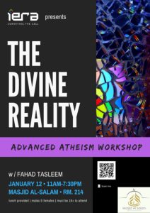 The Divine Reality Workshop with Fahad Tasleem