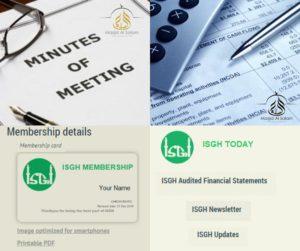 ISGH Membership Portal