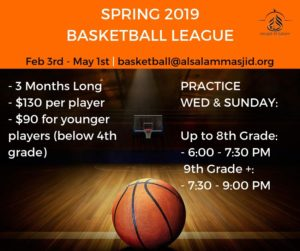 Basketball League - Spring 2019