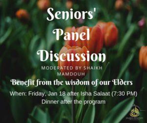 Seniors Panel Discussion