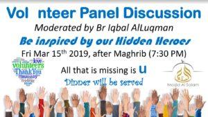 Volunteer Panel Discussion