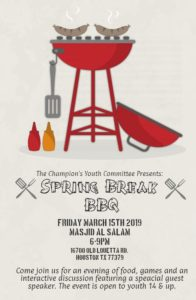 Youth Spring Break BBQ
