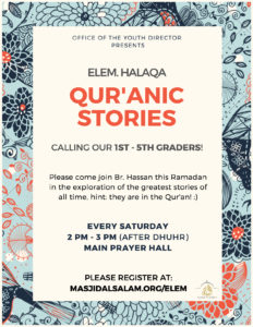Qur'anic Stories with Elementary Youth