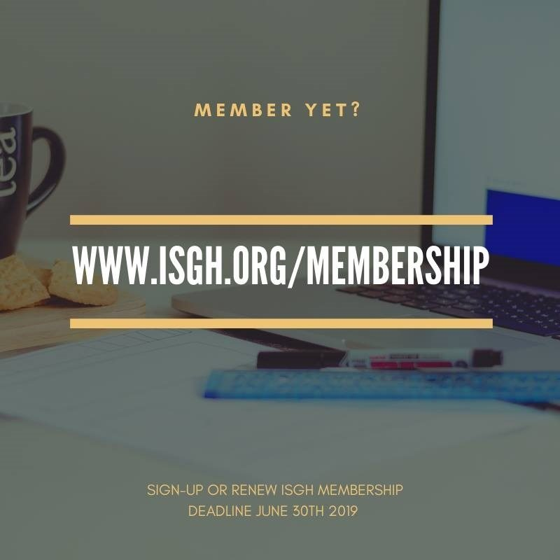 Permalink to: Featured: ISGH Membership Signup