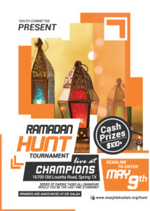 Ramadan Hunt Youth Tournament