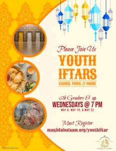 Youth Iftars & Activities
