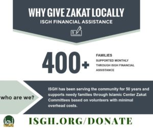 Give Zakah Locally