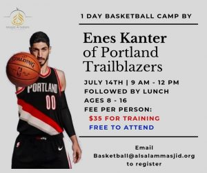 Basketball Camp by Enes Kanter
