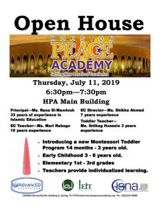 HPA Open House