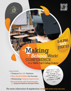 Making School Work Conference - Challenges, Tips, Career Advice & More!