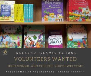 Volunteer at the Weekend Islamic School