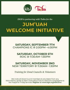 Jum'ah Welcome Initiative