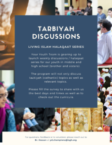 Tarbiyah Discussions Survey - Living Islam Series