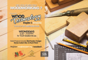 Wood Technology Course with Br Ameer Bacchus