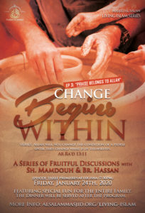 Change Begins Within (Part 3) - Friday, Jan 24 @ 7:50PM