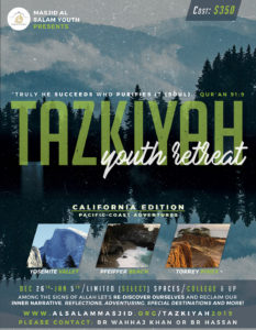 Tazkiyah Retreat - Road Trip to California