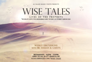 Wise Tales - Stories of the Prophets (Wednesdays)