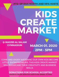 Kids Create Market