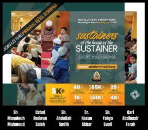 Masjid AlSalam Virtual Fundraiser