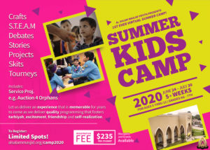 Summer [Virtual] Camp 2020 - Fostering Positive Memories & Relationships