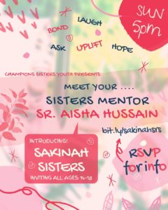 Sakinah Sisters - HS Sisters Discussion Group