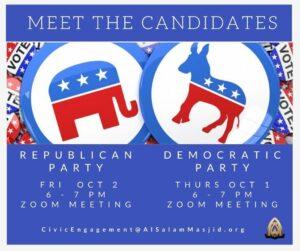 Meet the Democratic & Republican Candidates