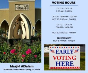Voting Hours