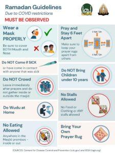Ramadan Guidelines - 2021