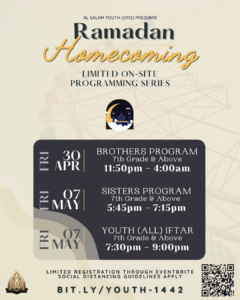 Ramadan Youth On-Campus Programming