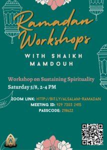 Ramadan Workshops
