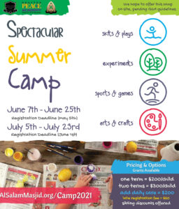 Spectacular Summer Camp 2021 - Fostering Positive Memories & Relationships