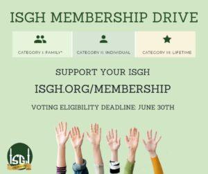 ISGH Membership Drive