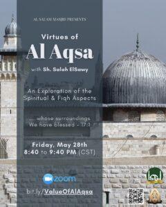 Virtues of Masjid AlAqsa