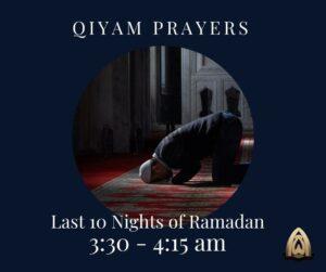 Qiyam-ul-Layl Prayers