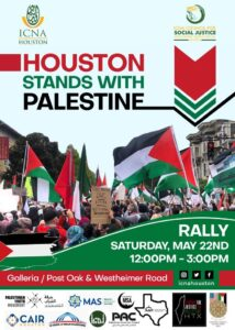 Houston Stands with Palestine Rally