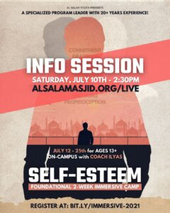 "Info Session for the ""MMA + Self-Esteem Immersive Camp"""