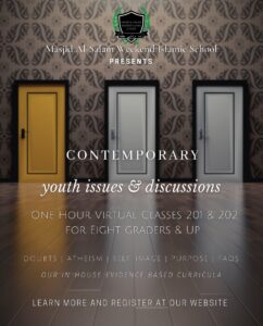 Contemporary Youth Issues Class